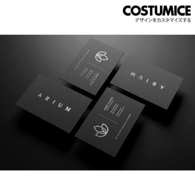 Costumcie Design Premium Name Card 800Gsm Premium Super Black Card 4