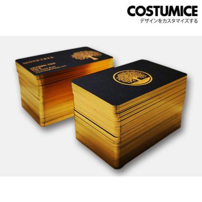 costumcie design painted edge name card 2