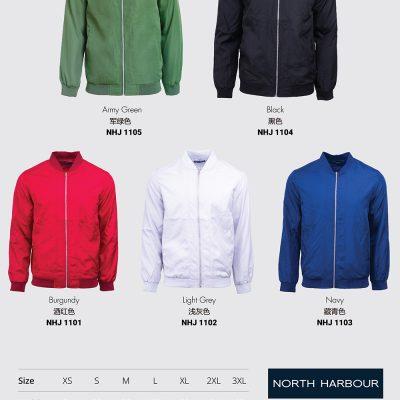 Costumice Design Bomber Jacket Color Options