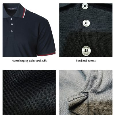 Costumice Design Signature Collection Business Polo Detail