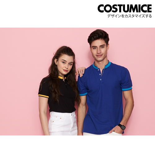 Costumice Design Signature Mandarin Collar Polo 2