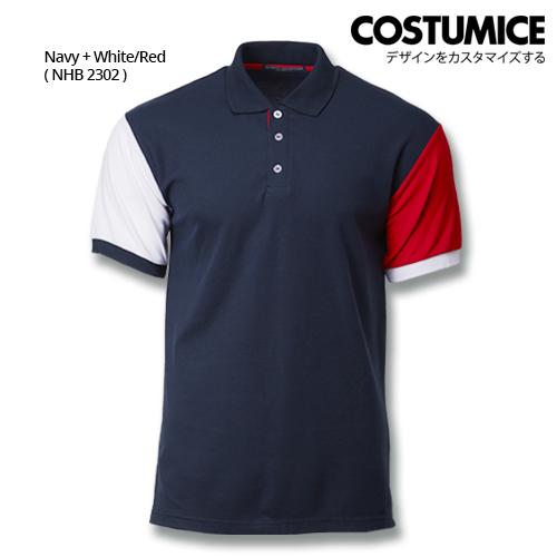 Costumice Design Dashing Polo - Navy+White+Red