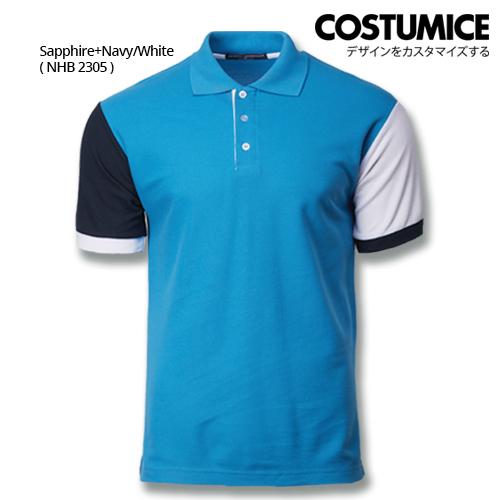 Costumice Design Dashing Polo -Sapphire+Navy+White