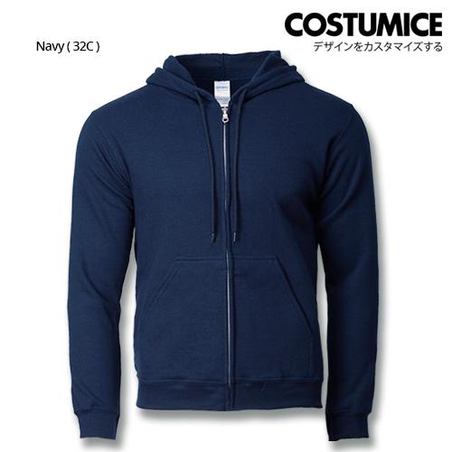 Costumice Design Heavy Blend Full Zip Hoodie Printing- Navy