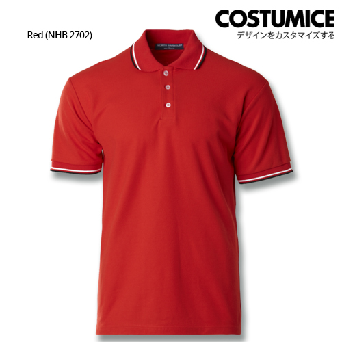 Costumice Design Signature Collection Business Polo - Red