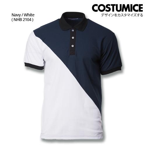 Costumice Design Signature Collection Venture Polo - Navy+White