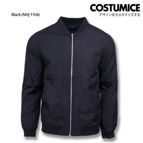 Costumice Design Bomber Jacket - Black