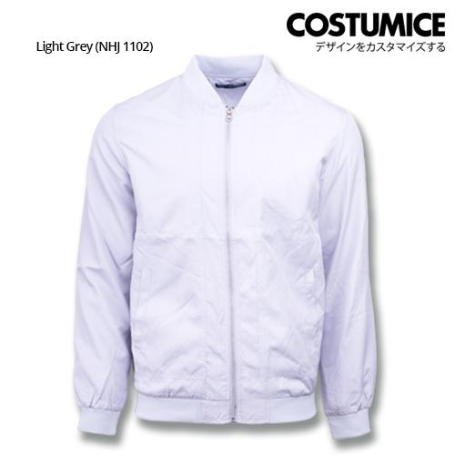 Costumice Design Bomber Jacket - Light Grey