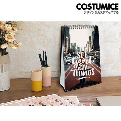 Costumice Design portrait Desktop calendar 2