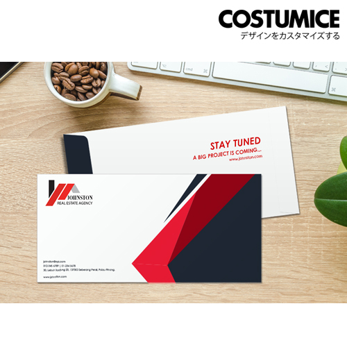Costumice Design Business Envelope 3