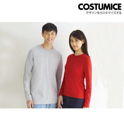 Costumice Design Basic Cotton Long Sleeve T-Shirt 4