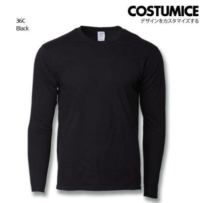 Costumice Design Premium Cotton Long Sleeve T-Shirt-Black