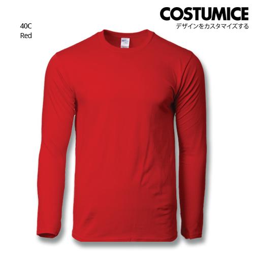 Costumice Design Premium Cotton Long Sleeve T-Shirt-Red