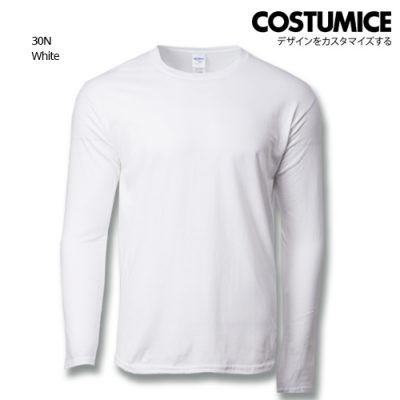 Costumice Design Premium Cotton Long Sleeve T-Shirt-White