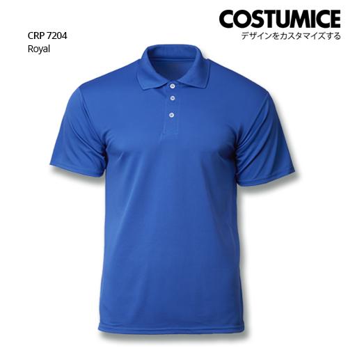 Costumice Design Quick Dry Polo Crp 7204 Royal