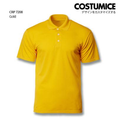 Costumice Design Quick Dry Polo Crp 7208 Gold