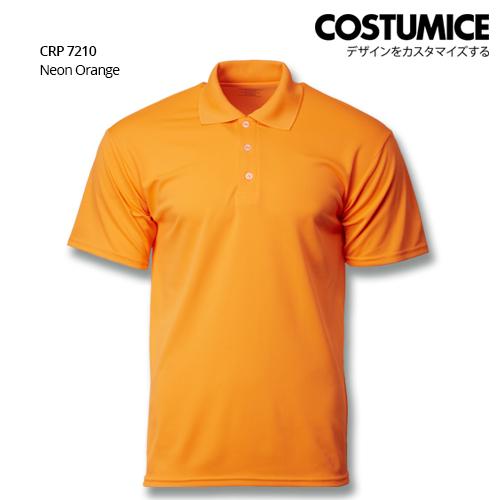 Costumice Design Quick Dry Polo Crp 7210 Neon Orange