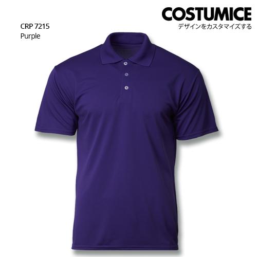 Costumice Design Quick Dry Polo Crp 7215 Purple
