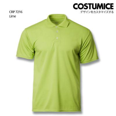 Costumice Design Quick Dry Polo Crp 7216 Lime