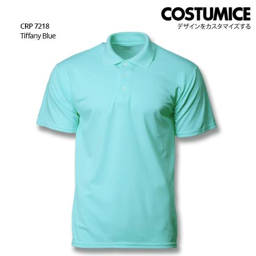 Costumice Design Quick Dry Polo Crp 7218 Taffany Blue