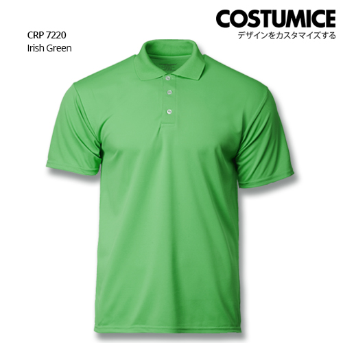 Costumice Design Quick Dry Polo Crp 7220 Irish Green