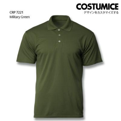 Costumice Design Quick Dry Polo Crp 7221 Military Green
