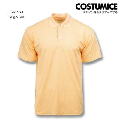 Costumice Design Quick Dry Polo Crp 7223 Vegas Gold