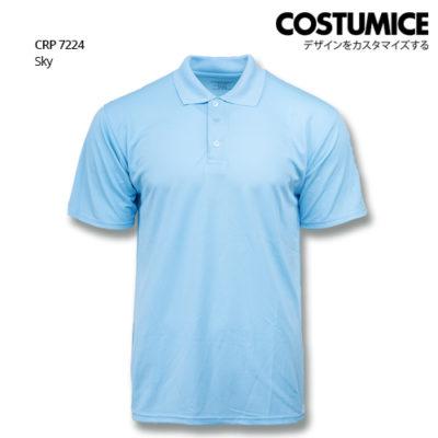 Costumice Design Quick Dry Polo Crp 7224 Sky