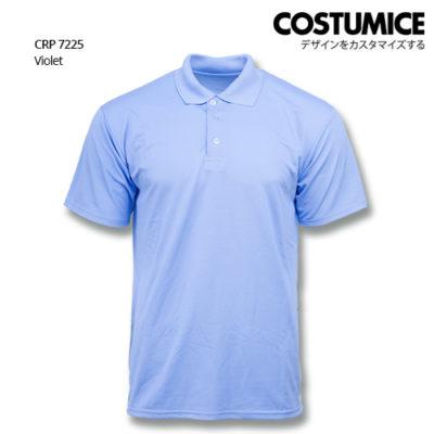Costumice Design Quick Dry Polo Crp 7225 Violet