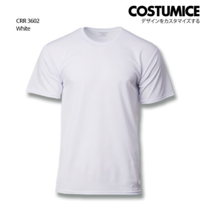 Costumice Design Quick Dry T-Shirt Crr 3602 White