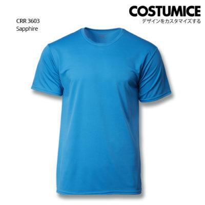 Costumice Design Quick Dry T-Shirt Crr 3603 Sapphire