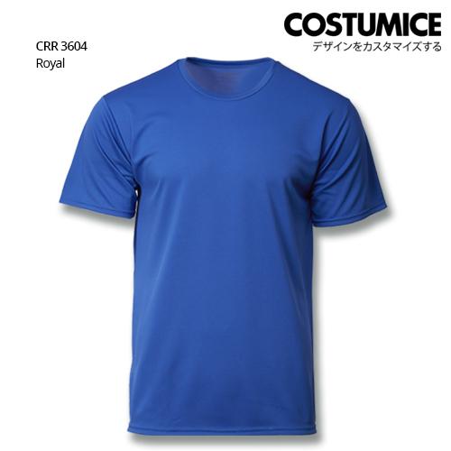 Costumice Design Quick Dry T-Shirt Crr 3604 Royal