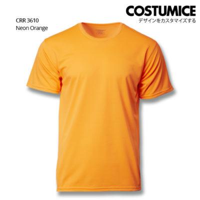 Costumice Design Quick Dry T-Shirt Crr 3610 Neon Orange