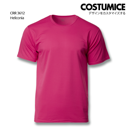Costumice Design Quick Dry T-Shirt Crr 3612 Heliconia