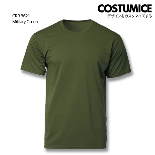 Costumice Design Quick Dry T-Shirt Crr 3621 Military Green