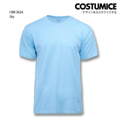 Costumice Design Quick Dry T-Shirt Crr 3624 Sky