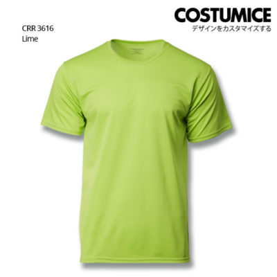 Costumice Design Quick Dry T-Shirt Crr3616 Lime