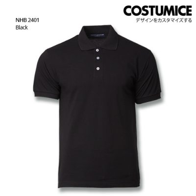 Costumice Design Soft Touch Polo Nhb 2401 Black