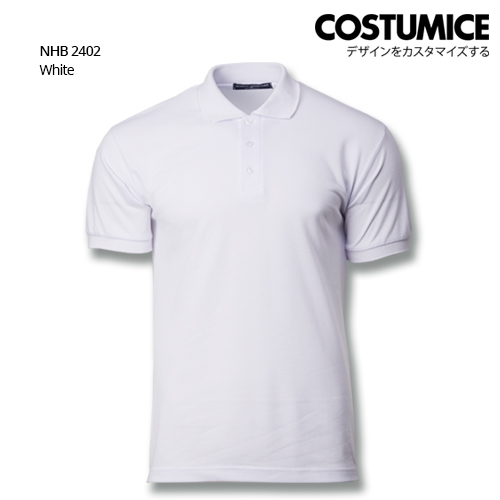 Costumice Design Soft Touch Polo Nhb 2402 White