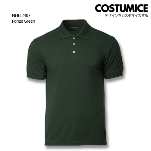 Costumice Design Soft Touch Polo Nhb 2407 Forest Green