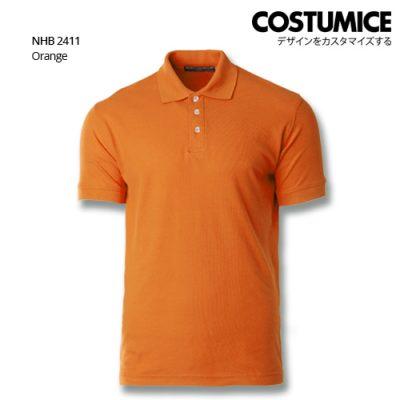 Costumice Design Soft Touch Polo Nhb 2411 Orange