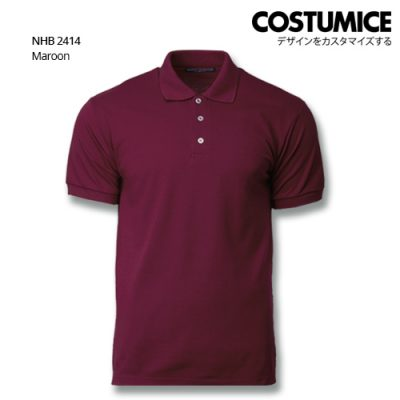 Costumice Design Soft Touch Polo Nhb 2414 Maroon
