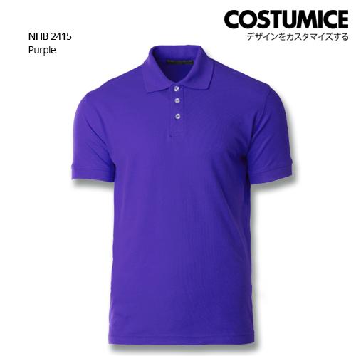 Costumice Design Soft Touch Polo Nhb 2415 Purple