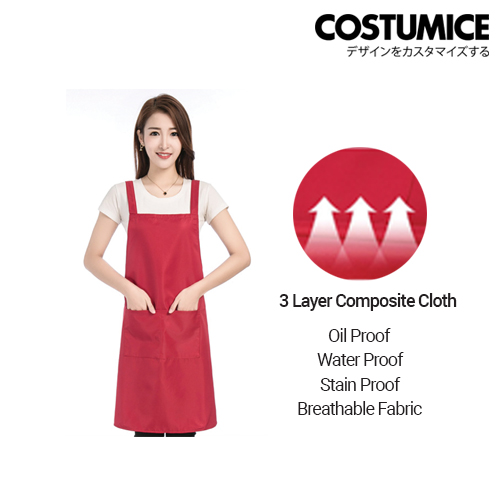 Costumice Design Customized Aprons With Logo 1