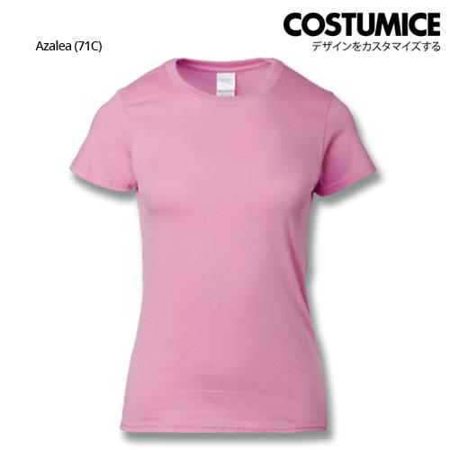 Costumice Design Ladies Premium Cotton T-Shirt-Azalea