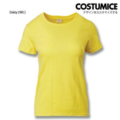 Costumice Design Ladies Premium Cotton T-Shirt-Daisy