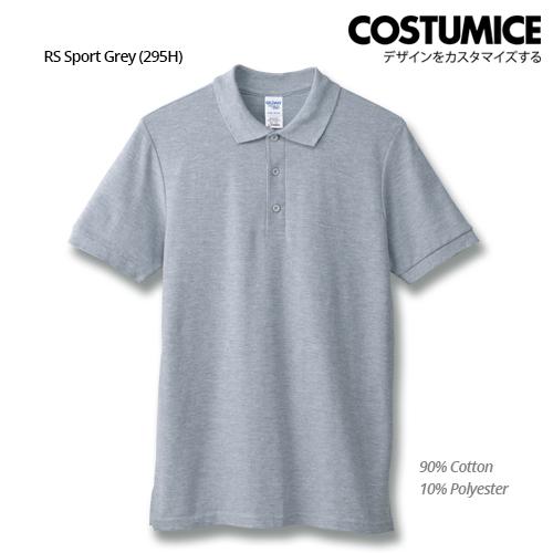 Costumice Design Premium Cotton Double Pique Polo - Rs Sport Grey