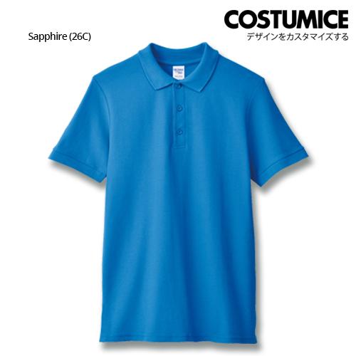Costumice Design Premium Cotton Double Pique Polo - Sapphire