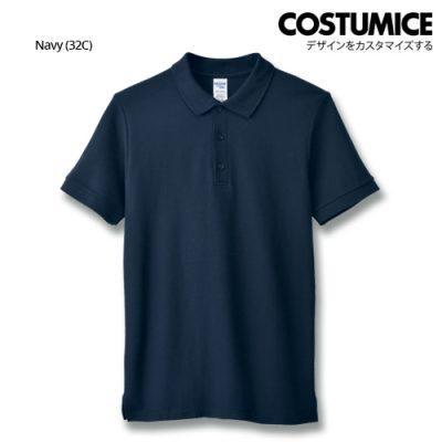 Costumice Design Premium Cotton Double Pique Polo - Navy