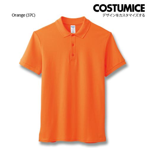 Costumice Design Premium Cotton Double Pique Polo - Orange